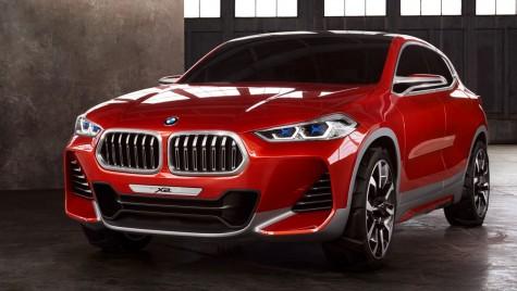 BMW X2 Concept: Primul SUV Coupe compact