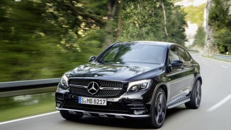 Mercedes-AMG GLC 43 Coupe. SUV sport cu 367 CP