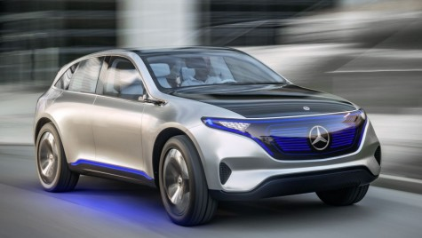 Mercedes Generation EQ, SUV electric cu autonomie de 500 km