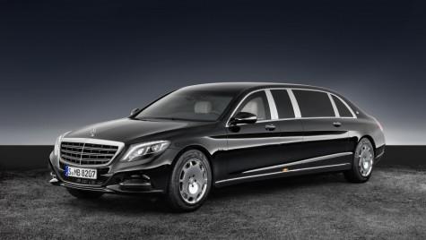 Mercedes-Maybach S 600 Pullman Guard. Lux prezidențial
