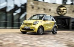 smart fortwo cabriolet – Jucăria urbană prelungește vara