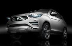 SsangYong LIV-2 Concept anunță un nou Rexton