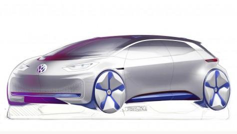 Concept VW electric revoluționar – primele schițe oficiale