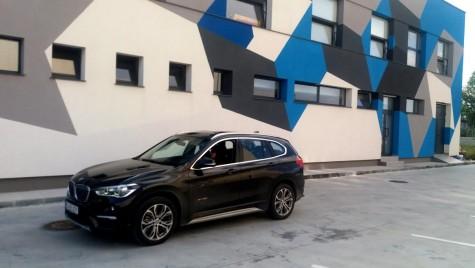 Test drive BMW X1 – Am fugit cu bodyguard-ul în lume