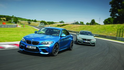 Test drive BMW M2 vs M4 – Razboi civil