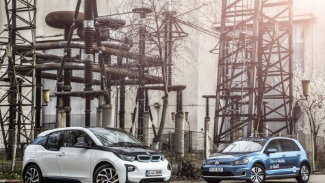 Test drive comparativ BMW i3 vs VW e-Golf