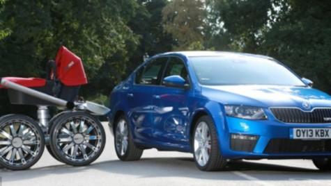 Supercăruciorul Skoda vRS – Suspensie sport și anvelope de off-road