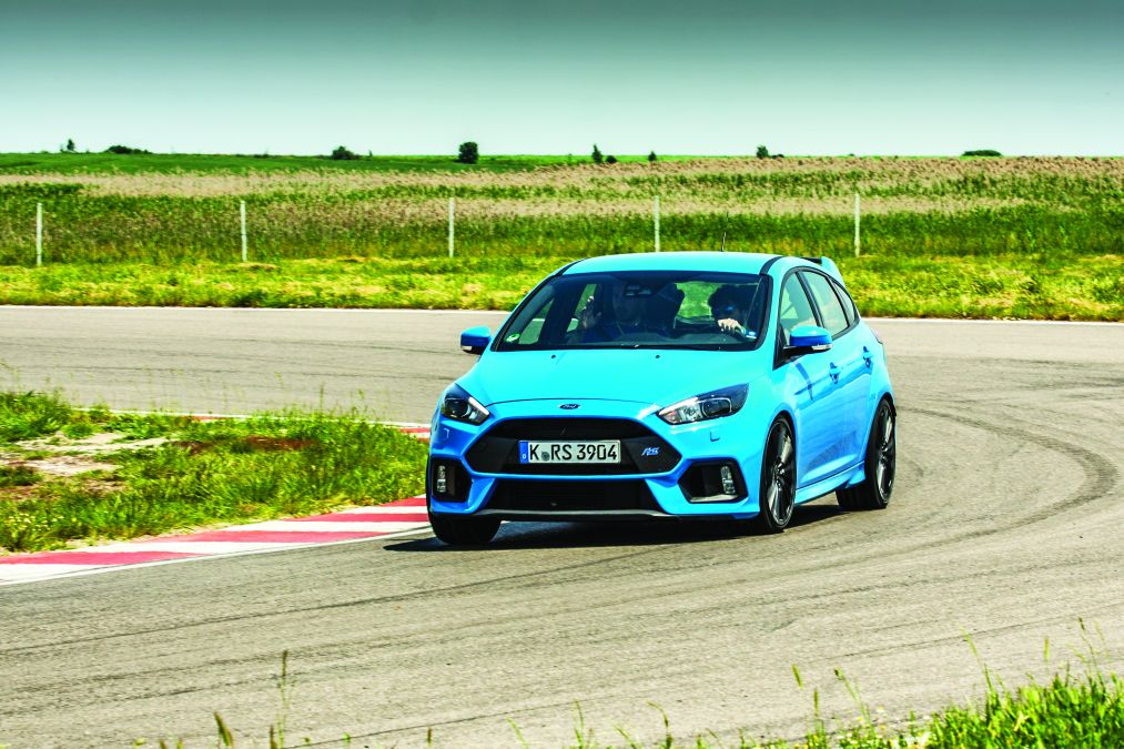 Test Ford Focus RS