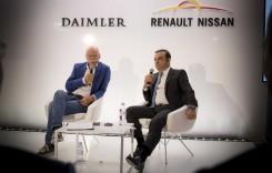 Daimler: Colaborare mai strânsă cu Renault-Nissan