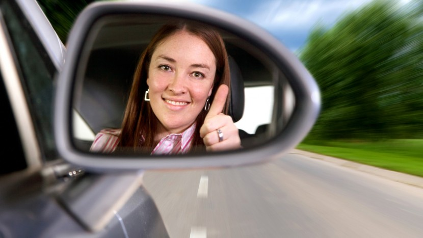 Image with Woman Driving A