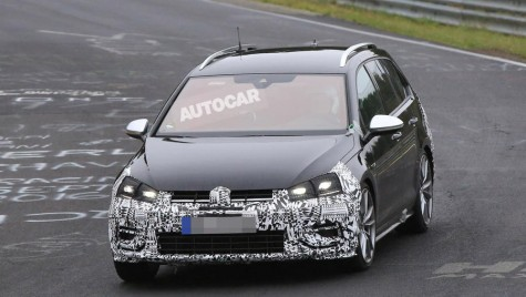 VW Golf 7 facelift, prefigurat de noi fotografii spion