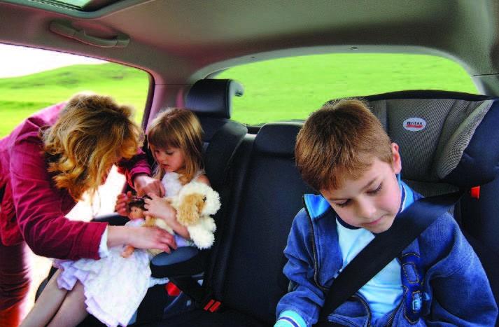 Urmează să plecaţi cu toată familia în voiaj. Pentru voiajul copiilor în automobil, indiferent de vârstă, trebuie să luaţi câteva măsuri speciale de precauţie.