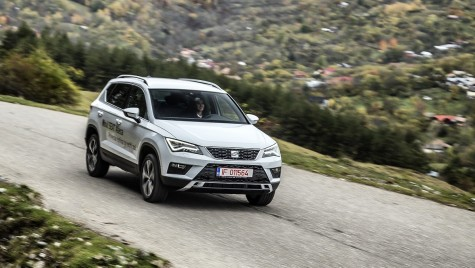 Test drive Seat Ateca 1.4 Eco TSI – Un SUV cu sangre caliente