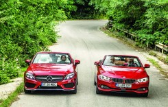 Test Mercedes C 250 Cabrio vs BMW 420i Cabrio