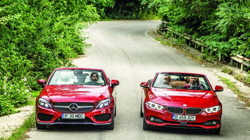 BMW 420i Cabrio vs Mercedes C 250 Cabrio