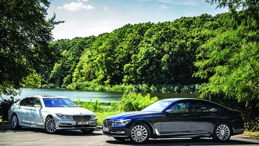 BMW 730d vs BMW 740Le