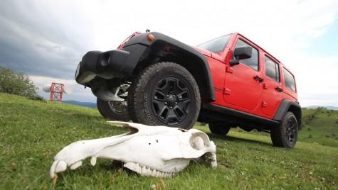 Test drive Jeep Wrangler Moab 2012