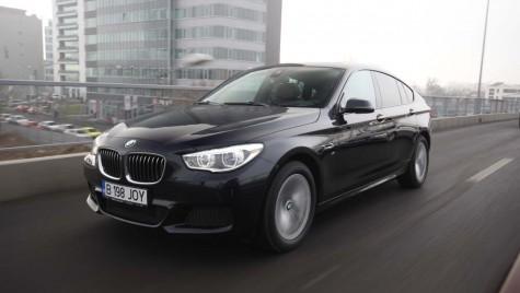 Test drive BMW seria 5 GT 2013