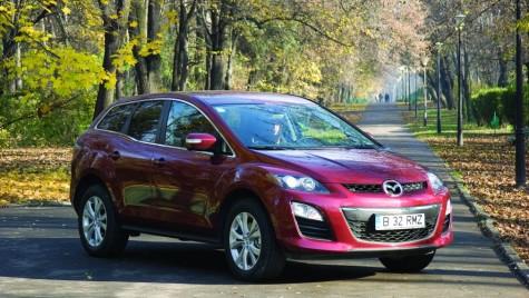 Test Mazda CX-7 facelift 2010