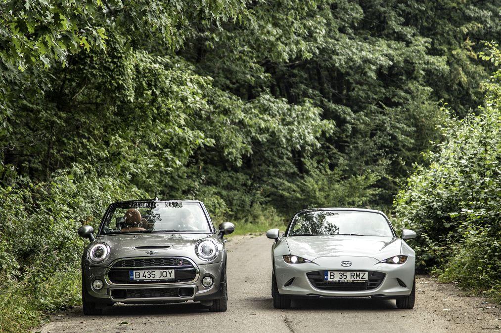 Mini vs Mazda