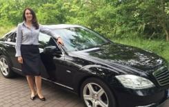 Doamna-șofer este o rusoaică suspectată de spionaj
