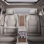 Volvo S90 Excellence interior rear