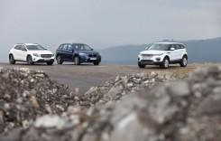 Test drive BMW X1 vs Mercedes GLA vs Range Rover Evoque