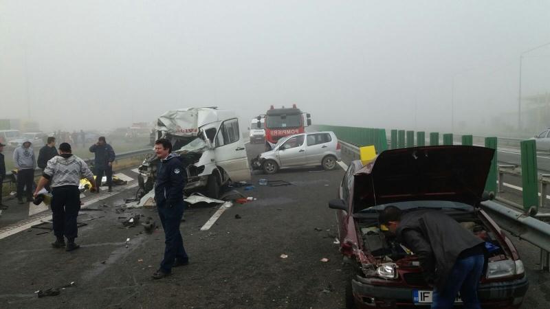 accident-in-lanț-Autostrada-soarelui-A2-1