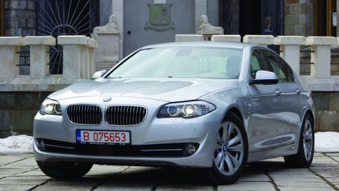 Test BMW 530d F10