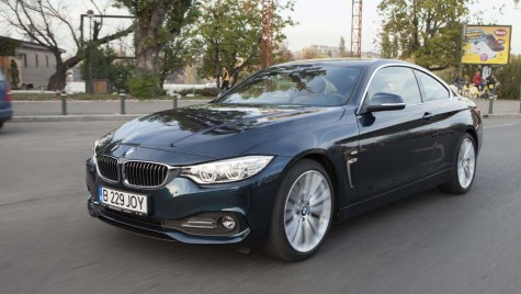 Test drive BMW seria 4 – 2013