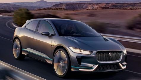 Jaguar I-Pace: Conceptul primului Jaguar electric