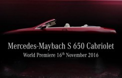 Mercedes-Maybach S 650 Cabriolet: Rival pentru Dawn
