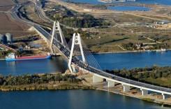 Podul de la Agigea se închide din nou. AFLĂ DE CE