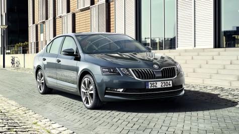 Skoda Octavia facelift: Noi imagini și detalii oficiale