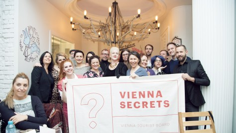 "Campanie la nivel european: ""Vienna Secrets"""
