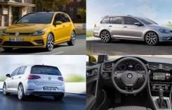 PRIMELE IMAGINI cu VW Golf facelift