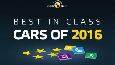 Topul celor mai sigure maşini testate de EuroNCAP în 2016