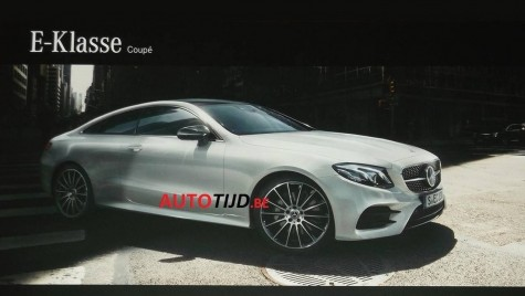 Așa arată noul Mercedes E-Class Coupe – PRIMELE IMAGINI