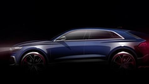 Audi Q8 e-tron: Cel mai mare SUV Audi sosește la Detroit