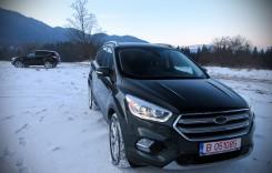 Ford Kuga facelift: primul test din România!