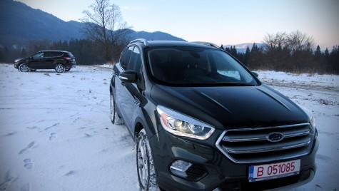 Primul test drive Ford Kuga facelift din România!