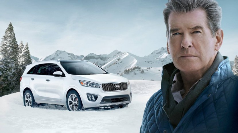 Kia Sorento James Bond