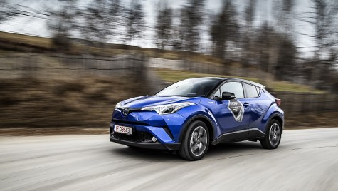 Test drive Toyota C-HR 1.8L HSD – Atenție, a aterizat OZN-ul!