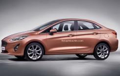 Ford Fiesta Sedan: Cum ar putea arăta noul rival al Daciei Logan