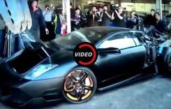 ȘOCANT: Lamborghini Murcielago, dat la casat și distrus