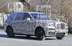 Cum arată primul SUV Rolls-Royce, intitulat Cullinan