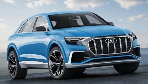 Audi Q8 Concept: SUV-Coupe plug-in hybrid cu 450 CP