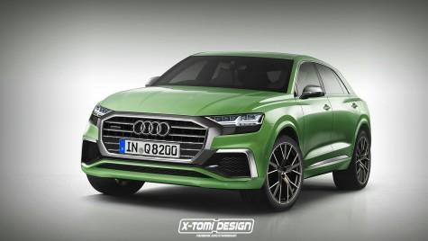 Audi Q8: Cum va arăta noul SUV Coupe, în varianta de serie