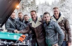Mercedes G-Class electric pentru Arnold Schwarzenegger