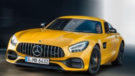 Mercedes-AMG GT facelift: Mai multă putere și versiune GT C Coupe